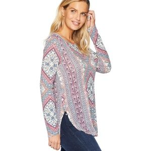Lucky Brand. Lucky Tapestry Tee
